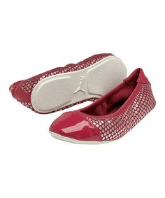 Love this Virtual Pink Kitara Polka Dot 2 Ballet Flat - Women on #zulily! #zulilyfinds
