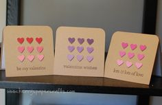 Adorable and easy! Use paint chips to get the gradient correct. Just punch and glue for a perfect card!