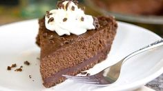 Pumpkin pie gets a total makeover – with rich chocolate!