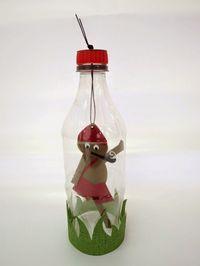 Trabalhos Escolares Criativos: 31 de outubro - Dia do Saci Diy And Crafts, Crafts For Kids, Arte Popular, Bottle Art, Kids Education, Christmas Ornaments, Holiday Decor, Pinocchio, 1