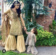 Repost @cee_jae_gee👩👧 #pakistaniweddings #mommyandme #motherdaughter #twinning