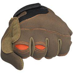 Moto Gloves in brown/orange by Biltwell Inc.