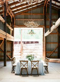 Barn Wedding Recepti