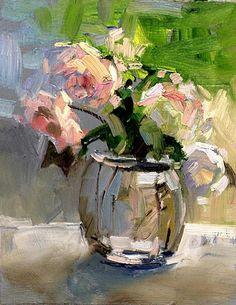 Landscape Paintings, Oil Paintings, Floral Paintings, Spring Painting, Oil Painting Flowers, Impressionism Art, Still Life Art, Flower Art, Art Flowers