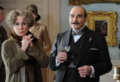 .  Be careful, dear Poirot. Danger is closer than you think. Literally at your elbow.