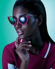 Futuristic sunglasse