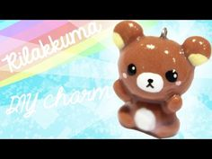 Rilakkuma Kawaii Friday! #143 polymer clay tutorial