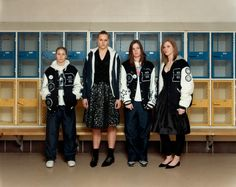 Alec Soth - Paris/Minnesota -Members of the Bemidji Lumberjacks Highschool Varsity Girls Basketball Team