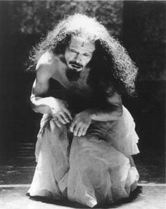 """""""Butoh is a corpse standing straight up in a desperate bid for life."""" - Tatsumi Hijikata (one of the founders of Butoh). °"""