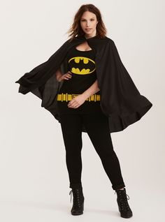 Plus size Halloween costumes: Batman Plus Size Superhero Costumes, Diy Superhero Costume, Plus Size Costume, Black Halloween Costumes, Hallowen Costume, Halloween Kostüm, Costume Ideas, Super Hero Outfits, Super Hero Costumes
