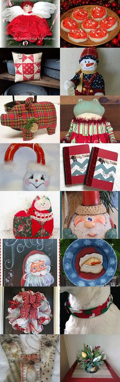 I RED It Was Christmas In July by Karen Blevins on Etsy--Pinned with TreasuryPin.com