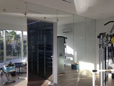 Looking to make your extra room into a gym? We can create workout mirrors.