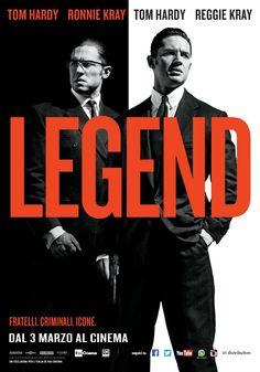 Legend, scheda del film di Brian Helgeland con Tom Hardy, dal 3 marzo al cinema.