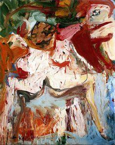 Willem de Kooning. #art #abstract #expressionism