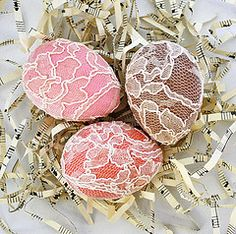 """""""Lacy Eggs"""" #easter"""