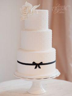 wedding cake idea; v