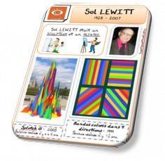 Fiche d'identité Sol LEWITT - Saperlipopette