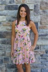 Secret Garden Floral Dress - Pink | #ShopMissChic
