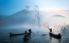 Life in the River Photo by Ngô Phương -- National Geographic Your Shot