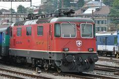 Winterthur, Swiss Railways, Locomotive, Deviantart, Trains, Swiss Guard, Locs, Train