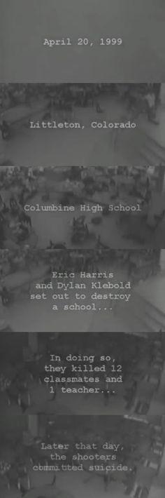 Columbine 4/20/99 #ericharris #dylanklebold #columbine