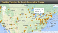 Find a solar organization in your community and get help going solar: http://communitypowernetwork.com/