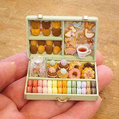 Miniature set♡ ♡ By pansbear