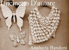 scialle in cotone e viscosa  #handmade #crochet #uncinetto #analuciabandoni #uncinettodautore #scialle #shawl
