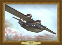 PBY-5 WATERVLIEGTUIG WW-2