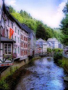 Channels of Monschau, Germany