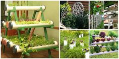 FabArt DIY PVC Gardening Ideas and Projects