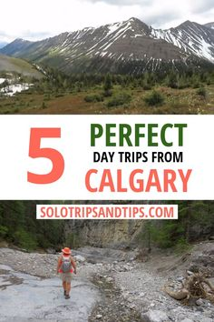 5 Perfect Day Trips from Calgary – wandern One Day Trip, Day Trips, Family Adventure, Adventure Travel, Rocky Mountains, Calgary, Canadian Travel, Canadian Rockies, Solo Travel