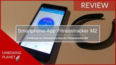 Video mit Erklärung der Smartphone-App für Fitnesstracker M2 #video #erklärung #smartphoneapp #fitnesstrackerm2