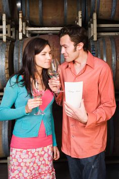 Take your partner out for a wine tasting or for a tour of a local winery!