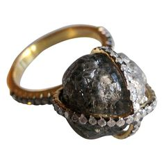 Check out the deal on Diamond Ring - Black Diamond in the Rough at Eco First Art