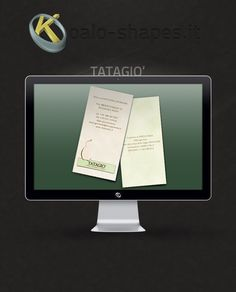 Tatagio' #business #card by Koalo Shapes --- Tatagio' is a professional nanny.