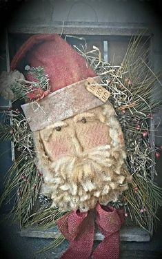 Christmas Sewing, Christmas Snowman, Rustic Christmas, Handmade Christmas, Vintage Christmas, Christmas Wreaths, Christmas Decorations, Christmas Ornaments, Christmas Ideas