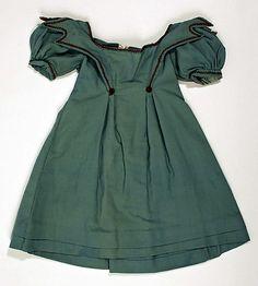 Dress  Date: ca. 1840 Culture: American Medium: wool, linen