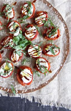 Roasted Tomato Caprese Salad | 23 Lettuce-Free Salads You'll Actually Want To Eat