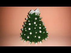 YouTube Bubble Christmas, Tiny Christmas Trees, Crochet Christmas Trees, Holiday Crochet, Christmas Bells, Xmas Tree, Christmas Crafts, Christmas Ornaments, Amigurumi Tutorial