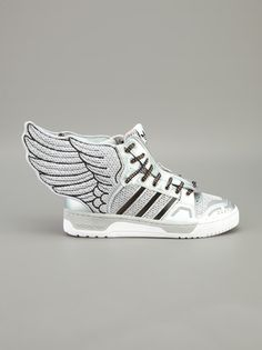 Forget Red Bull ... ADIDAS ORIGINALS BY JEREMY SCOTT give you wings