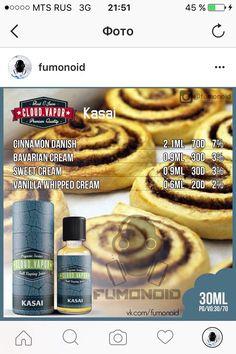 Premium E-liquids straight from the manufacturer Diy Vape Juice, Vape Diy, E Juice Recipe, Clone Recipe, Bavarian Cream, Ice Cream Floats, Light Cakes, Vanilla Whipped Cream, Cherry Candy
