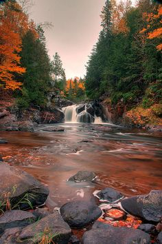Sturgeon River Gorge, Ottawa National Forest, Michigan used to snowmobile there every winter. Beautiful in all seasons All Nature, Amazing Nature, Tenerife, Beautiful World, Beautiful Places, Michigan Waterfalls, Michigan Travel, Michigan Usa, Nature Sauvage