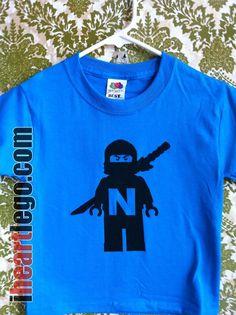 Ninjago shirt- (with 4?)