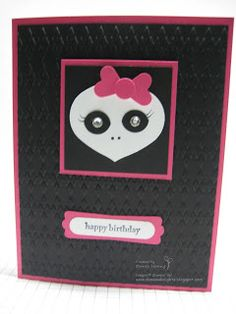 Danee's Stampin' Delights: Monster High Birthday Card