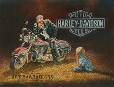 """Foto: Ilustración de Dave Barnhouse titulada """"Someday"""", del que puedes conocer…"""
