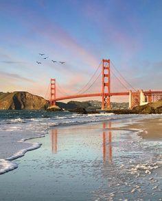 Golden Hour at the Golden Gate by @jayspiel #sanfrancisco #sf #bayarea #alwayssf #goldengatebridge #goldengate #alcatraz #california