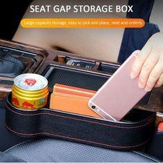 Car Seat Organizer, Car Gadgets, Car Hacks, Car Cleaning, Cool Items, Cool Things To Buy, Stuff To Buy, Storage Organization, Organizing