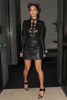 Nicole Scherzinger Attends The Launch Of MCCVIII Luxury Sneaker At Mr Chow Restaurant In London