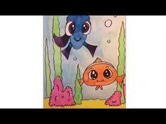 Teken Dory en Nemo, Draw Dory and Nemo